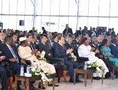 السيسى يوكد لنظيره النيجيرى حرص مصر على تحقيق أهداف أفريقيا الاستراتيجية