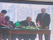 رئيس مفوضية الاتحاد الأفريقى يشيد باستضافة مصر لمركز إعمار أفريقيا