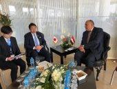 """""""شكرى"""": نتطلع لمشاركة رئيس وزراء اليابان فى افتتاح المتحف المصرى الكبير"""