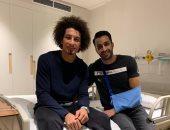 جراحة ناجحة لإسلام حسن لاعب الأهلى فى الإمارات