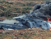 المرصد السورى: مقتل طاقم مروحية للجيش بعد إسقاطها على يد المعارضة