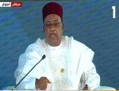 رئيس النيجر بمنتدى أسوان: افريقيا تحتاج لـ 600 مليار دولار سنويا لتحقيق التنمية