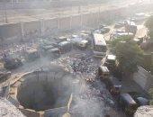 سكان عين شمس يشكون وجود مخلفات وبيارة معطلة من أمام مدرسة المتفوقين