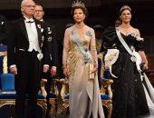 أميرات العائلة المالكة السويدية يتألقن فى حفل جوائز نوبل