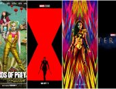 كل اللى فيهم ستات وبس.. 4 أفلام جديدة لـ مارفل و DC فى العام الجديد