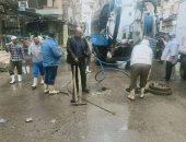 صور.. محافظ كفر الشيخ: حملات لكسح مياه الأمطار وتسليك الصفايات بالمدن