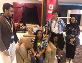 """مستقبل تكنولوجيا المعلومات تجمع """"صيني ونيجيرية وسودانية"""" بمنتدى شباب العالم"""