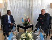 لقاءات ثنائية لسامح شكرى على هامش منتدى أسوان للسلام والتنمية