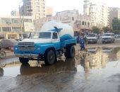 """صور.. """"مياه الفيوم"""": رفع حالة الطوارئ القصوى لمواجهة الطقس السيئ"""