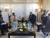 وزير الخارجية يبحث العلاقات الثنائية والقضايا المشتركة مع نظيرته الناميبية