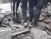 فيديو وصور.. انهيار عقار شارع أرض النقلى ببولاق أبو العلا