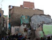 انهيار منزل وتصدع آخرين بسبب التنقيب عن الآثار بأسيوط