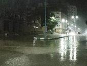 صور.. سقوط أمطار رعدية على مناطق متفرقة بمطروح والساحل الشمالى