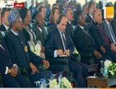 الرئيس السيسى يشهد فعاليات جلسة تعزيز دور المرأة الأفريقية فى السلام والأمن