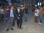 نائب محافظ الإسكندرية: تغريم مستأجرى الشواطئ المتسببين بإعاقة رؤية البحر..صور