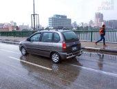 الأرصاد تناشد المواطنين القيادة بهدوء على الطرق لغزارة الأمطار