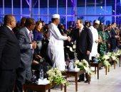 الرئيس السيسى يعلن انعقاد منتدى السلام والتنمية سنوياً
