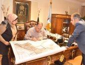 محافظ أسيوط يعتمد لوحات تعديل المخطط الاستراتيجي لمدينة أسيوط