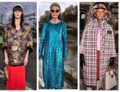 عارضات فوق الخمسين وبالألوان.. مجموعة أزياء جوتشى لموسم ما قبل الخريف 2020