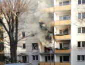 إصابة شخصين فى طرابلس اللبنانية بعد انفجار قنبلة فى مبنى سكنى