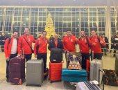 منتخب الاسكواش يصل واشنطن استعداداً للمشاركة فى بطولة العالم