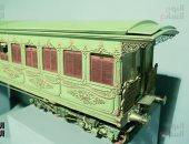 """صور..""""متحف السكة الحديد"""" تعرف على تاريخ وسائل النقل فى مصر والعالم"""