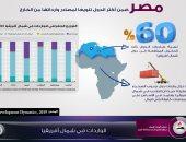 إنفوجراف.. مصر إحدى أكثر الدول تنويعا لمصادر وارداتها الخارجية
