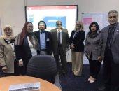 وفد من الوكالة الأمريكية للتنمية الدولية فى زيارة لجامعة الزقازيق.. صور