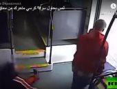 فيديو.. لص يسرق كرسيا متحركا من معاق فى المترو بولاية أريزونا الأمريكية