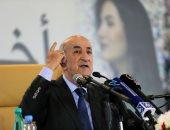 الرئيس الجزائرى يحذر من محاولات لتحريض المحتجين على العنف