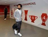 """أتلتيكو ضد ليفربول.. وصول محمد صلاح ورفاقه إلى ملعب """"واندا ميتروبوليتانو"""""""