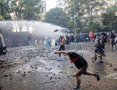 استمرار الإشتباكات واعمال العنف بين المتظاهرين والأمن فى تشيلى