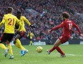 محمد صلاح يحطم رقم سواريز فى مباراة ليفربول ضد واتفورد