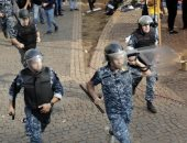 الأمن اللبنانى: 25 مصابًا من قوات مكافحة الشغب جراء اشتباكات بيروت