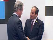 الرئيس السيسى يستقبل ضيوف منتدى شباب العالم فى نسخته الثالثة