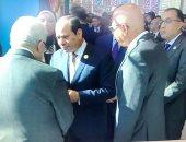 السيسي يلتقى أبو مازن بشرم الشيخ ويؤكد ثبات موقف مصر من القضية الفلسطينية