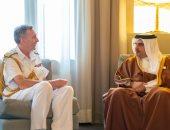 البحرين وبريطانيا يبحثان التعاون العسكرى المشترك