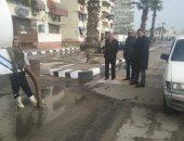 صور.. وزير التنمية المحلية يوجه المحافظات بإزالة آثار الأمطار من الشوارع