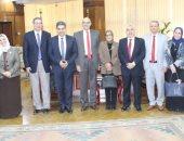 """جامعة طنطا تستقبل فريق الهيئة القومية لـ""""ضمان جودة التعليم والاعتماد"""""""