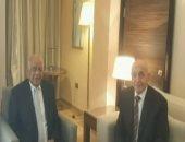 رئيس البرلمان يلتقى نظيره الليبى على هامش منتدى شباب العالم ..فيديو