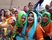 صور.. مسابقة فى الصياح.. إندونيسيات يقدمن نصائح للمجتمع