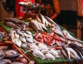 أسعار السمك اليوم الجمعة 31-1-2020 بسوق العبور