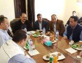 وفد برلمانى يتفقد عددا من مشروعات الطرق القومية بمحافظة البحر الأحمر