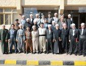 """""""خريجى الأزهر"""" تحتفل بختام الدورة التدريبية لأئمة ودعاة كردستان العراق.. صور"""