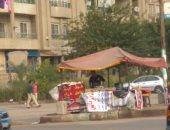 شكوى من وجود عربة فول فى الجزيرة الوسطى بشارع الورش مدينة نصر