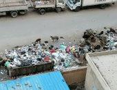 شكوى من مقلب للقمامة بشارع ترعة حدائق حلوان بحى المعصرة