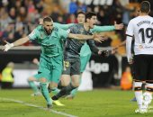 بنزيما ينقذ ريال مدريد من الخسارة أمام فالنسيا بهدف اللحظات الأخيرة.. فيديو