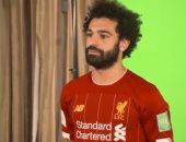 شاهد محمد صلاح ونجوم ليفربول فى جلسة تصوير كأس العالم للأندية