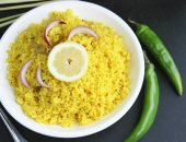 طريقة عمل الأرز بالليمون من المطبخ الهندى