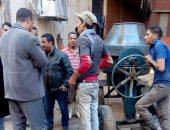 صور.. إيقاف 11 حالة بناء مخالف وبدون ترخيص فى الإسكندرية والمنيا